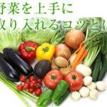 野菜を上手に取り入れるコツとは